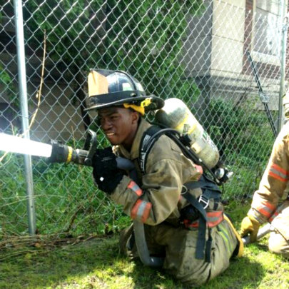 The Detroit Fire Fighter.
