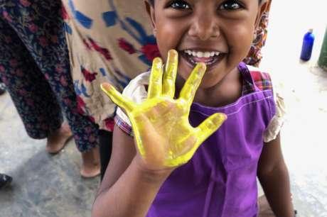 Taking Care of 50 Vulnerable Sri Lankan Children