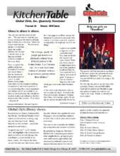Newsletter (PDF)