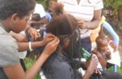 Train 50 vulnerable Girls in hairdressing.