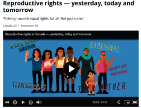 Image of Video on CBC with Meghan Doherty
