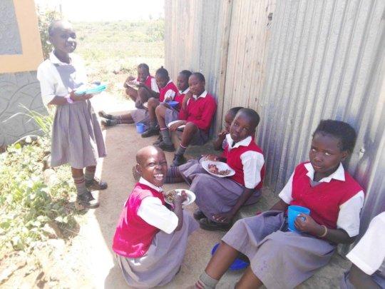 Akili Girls at school