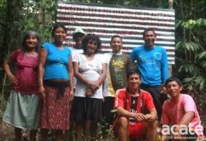 Medicinal agroforestry plot caretakers