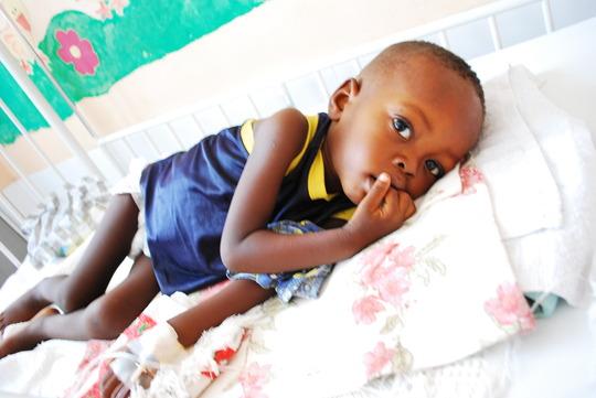 Chris - patient at the paediatric unit