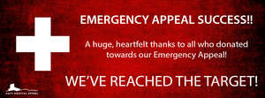 Emergency appeal success