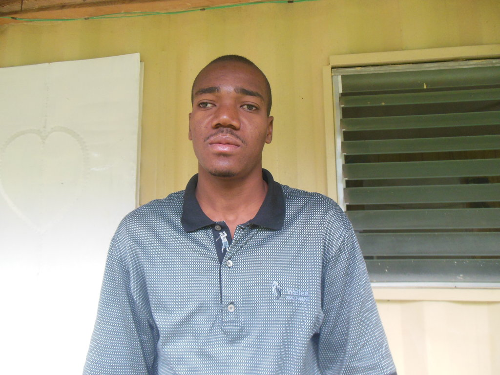 Marcus, one of our twelve community health agents