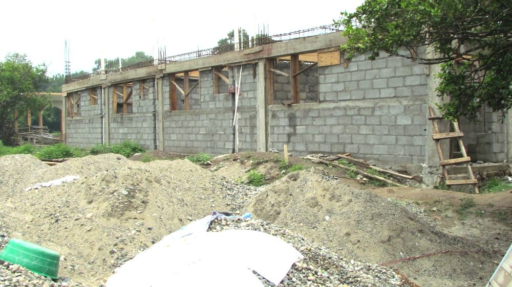 New Maternity building under construction