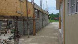 New building under way