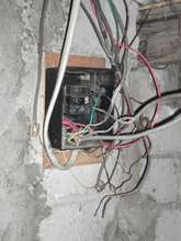 Original wiring in our hospital