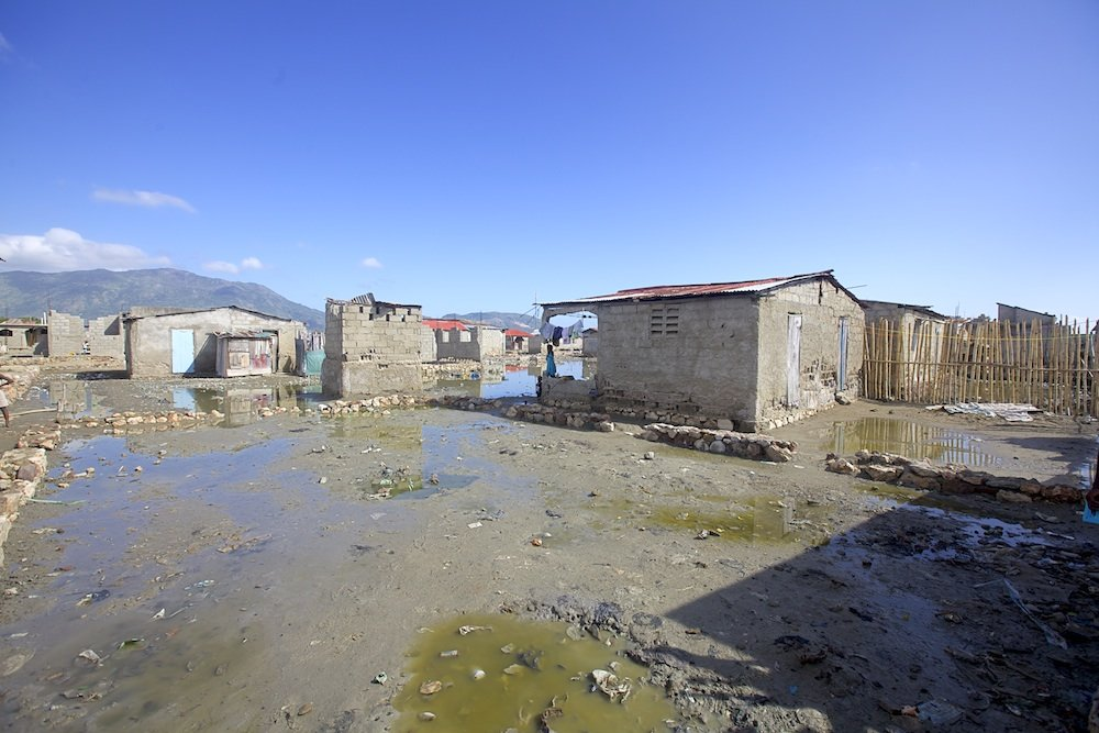One of the poorest communities we support