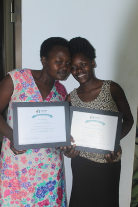 Moreen and Jackline , our Street Business coaches