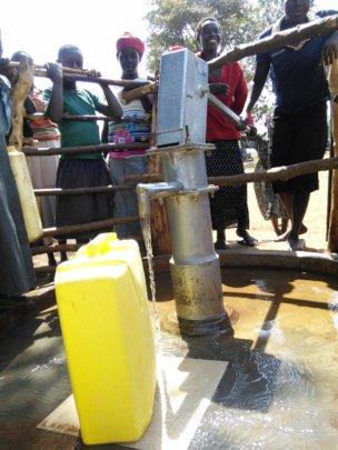 Excitement surrounds Ayomjeri Primary School