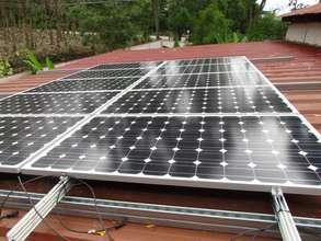 Children's home solar panels