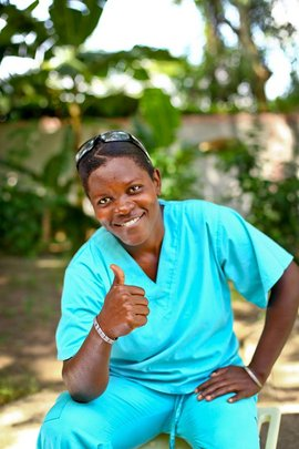 One of our other mums who works at the centre!