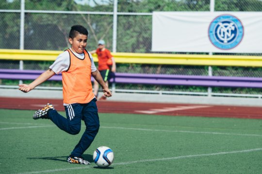City in the Community Soccer Program