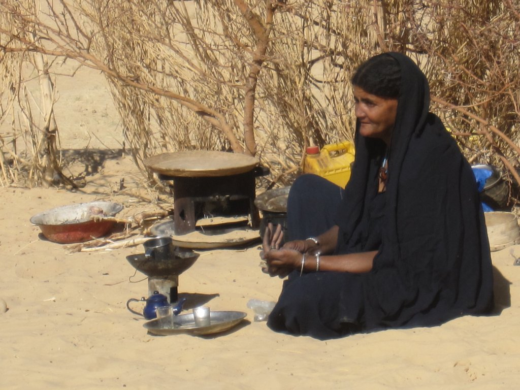 Female Adult LIteracy Classes in Timbuktu