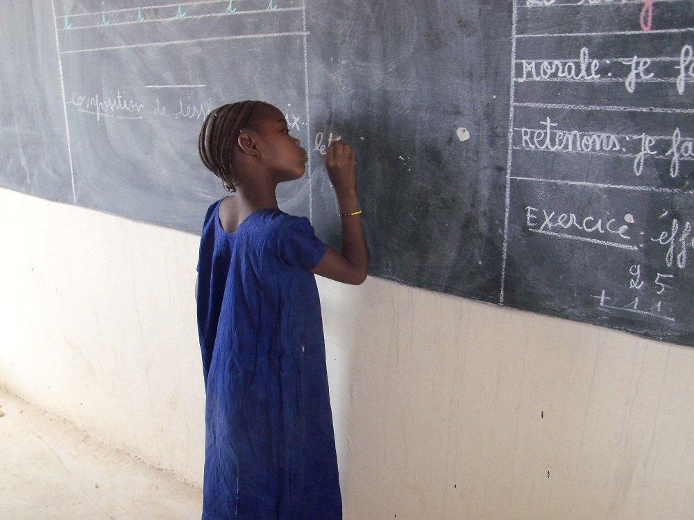 Female Adult LIteracy Classes in Timbuktu