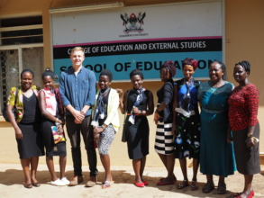Global Giving's Mikey Rothwell visits TFRF project