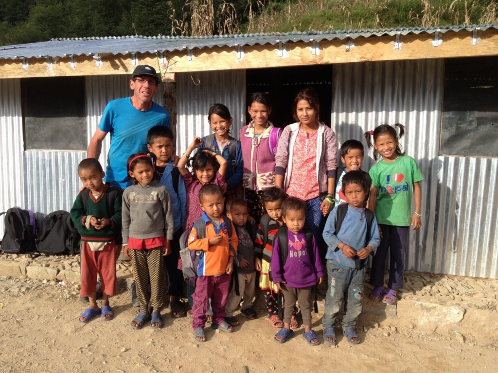 Provide 50 kids a future and education in Nepal