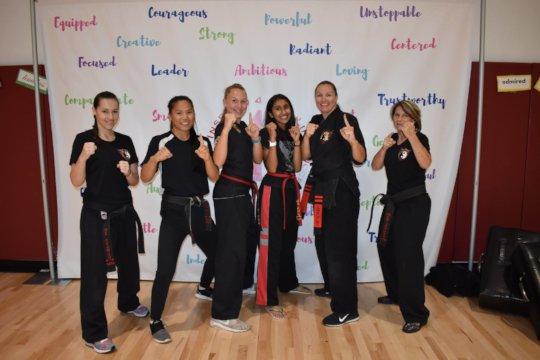 Self Defense with Tara Van Deusen and Team