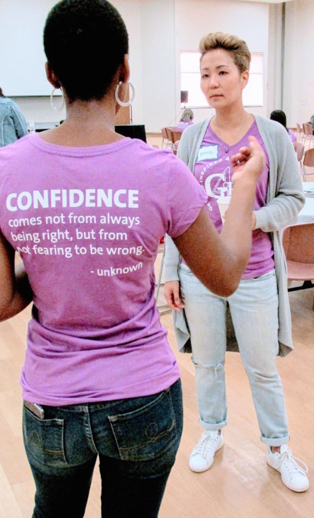 Confidence - 4GIRLS Orange County Workshop Theme