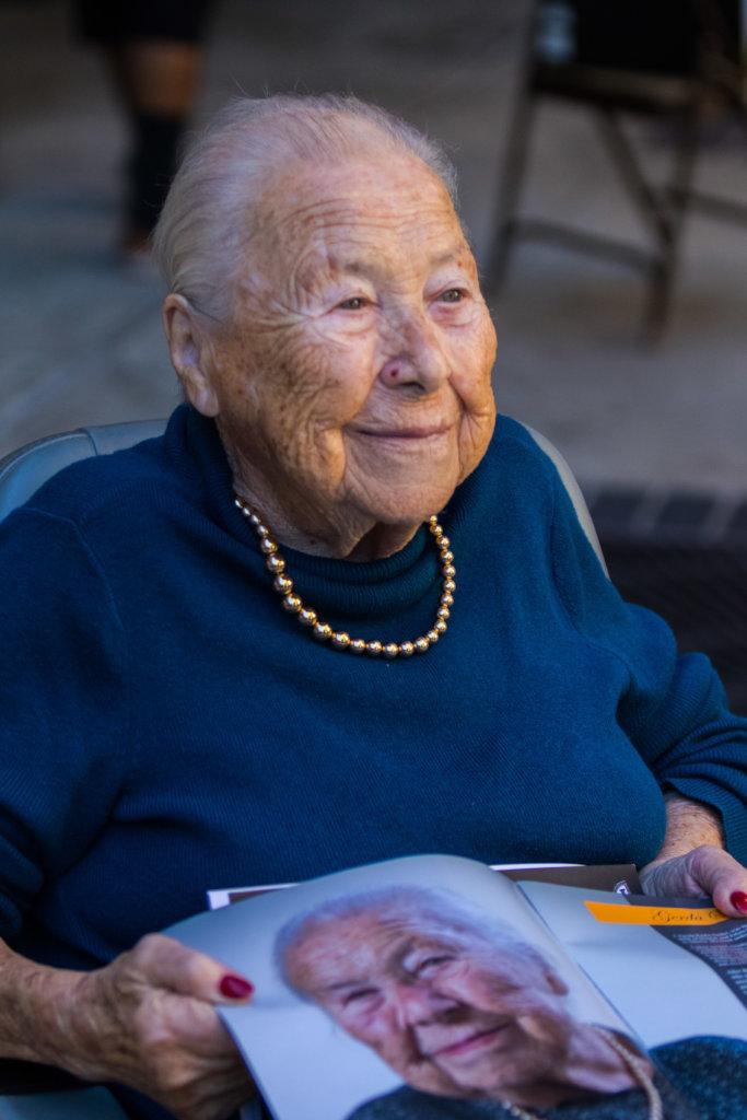 Gerda Seifer, Holocaust survivor