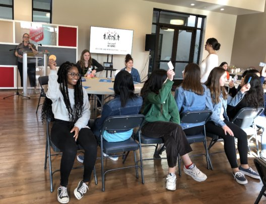 Musical Chairs Ice Breaker at Mentor Training