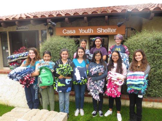 Fix a Fleece - Casa Youth Shelter, Los Alamitos