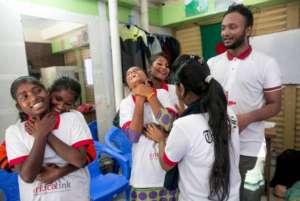 Rahat, seen here teaching, wins Queen's Award