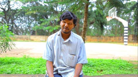 First Batch Student: Manjunath from Mysore