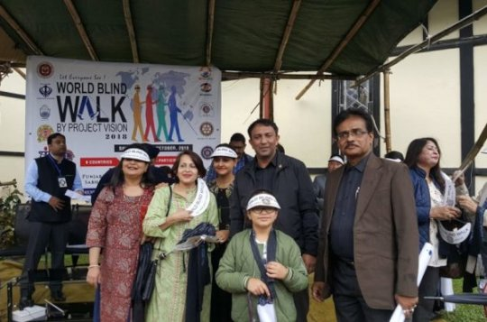 Participation of Shillong from North-East India...
