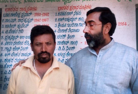 Saithil with founder- Fr. George
