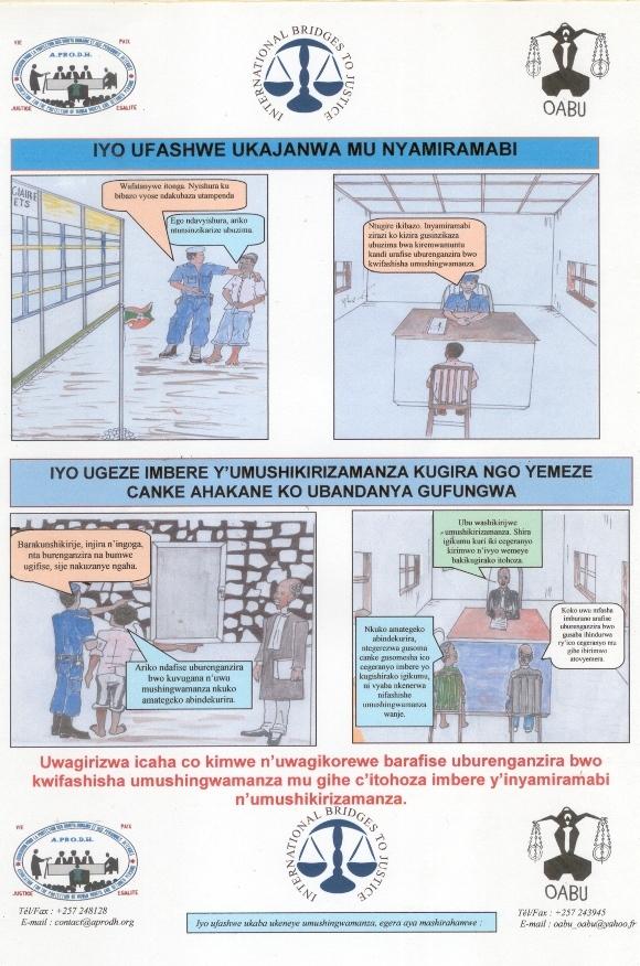 Burundi Rights Awareness Posters
