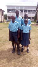 Bakari Ali and siblings at school