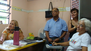 SALVEASERRA team and teachers from local school.