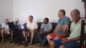 Meeting with Cambota Resident Association.