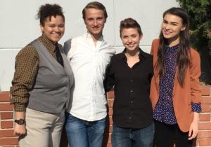 BAYS Board Members Darcey, John, Ruby & Kiana