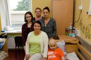 Visiting Natalya and Kiril in a cancer hospital