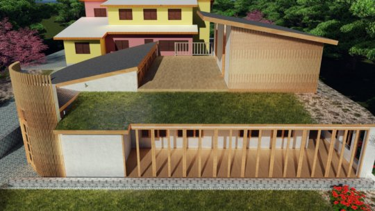 Draft design of the Environmental Training Center