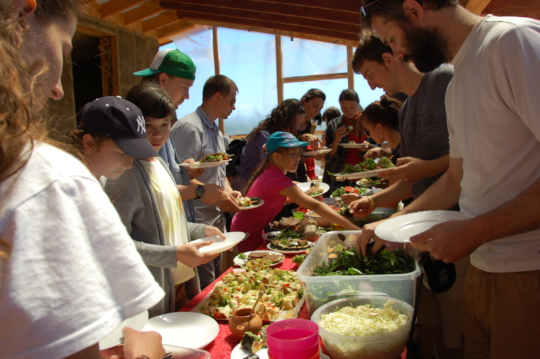Raw vegan lunch for BFC Company on their retreat