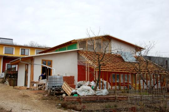Training Center construction progress