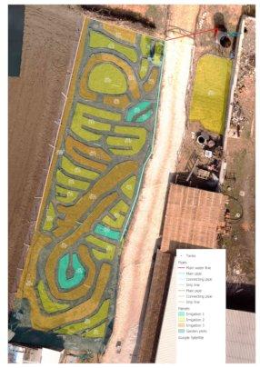 Redesigned educational garden plan