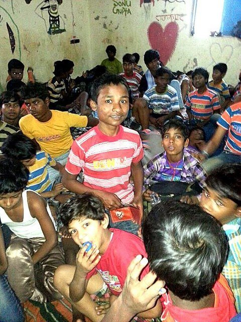 Rescued Children at Rescue Junction