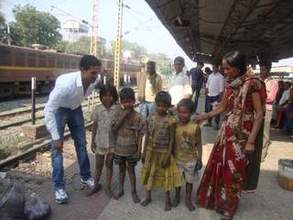 Staff on the Railway Station