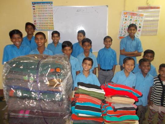 blankets for the children