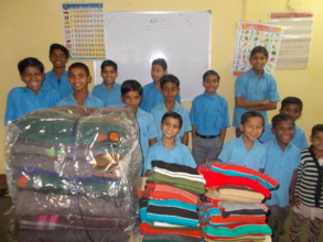 blankets for the children