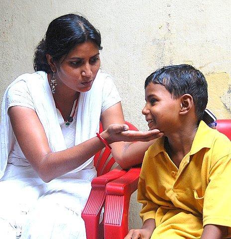 Pradeep with Sunita