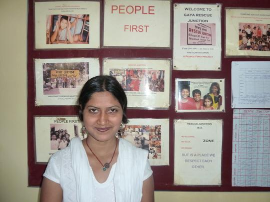 Sunita Project Manager Gaya Rescue Project