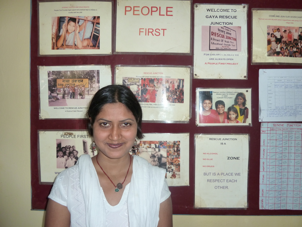 Sunita Project Manager Gaya Rescue Project