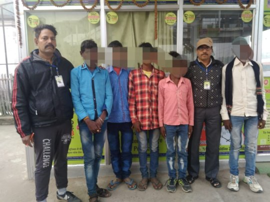 rescued child labour